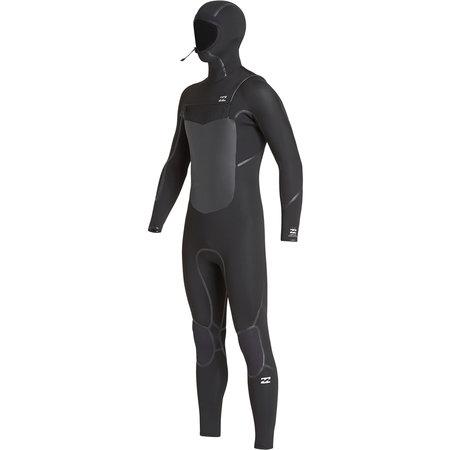 Billabong Billabong 5/4 Furnace Absolute Kinder Winter Wetsuit Hooded Black