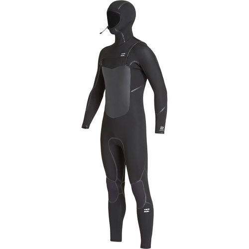 Billabong Billabong 5/4 Furnace Absolute Kinder Winter Wetsuit Hooded Black