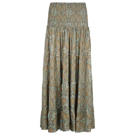 Isla Ibiza Isla Ibiza Dames Long Skirt Green