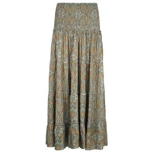 Isla Ibiza Isla Ibiza Dames Long Skirt Green