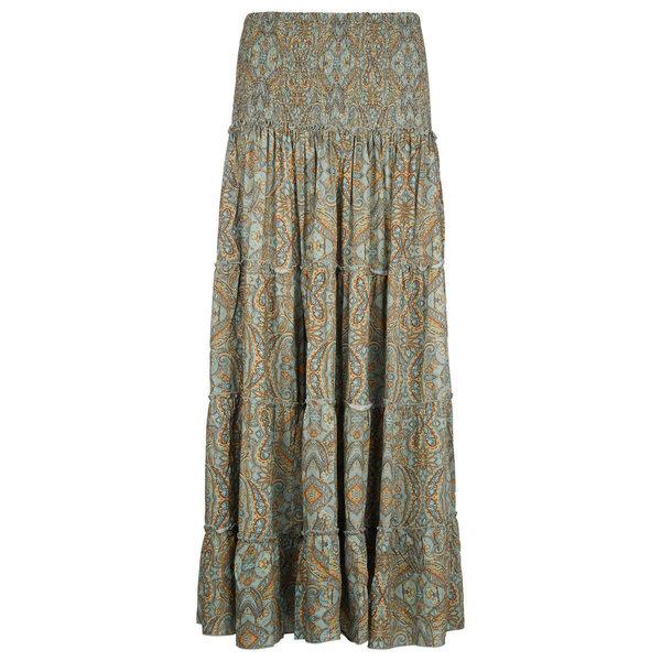 Isla Ibiza Dames Long Skirt Green