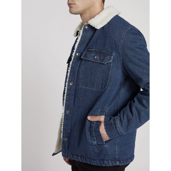 Volcom Heren Keaton Jacket Denim