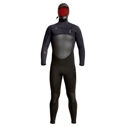 Xcel Xcel Infiniti X2 5/4 Heren Winter Wetsuit Hooded Black