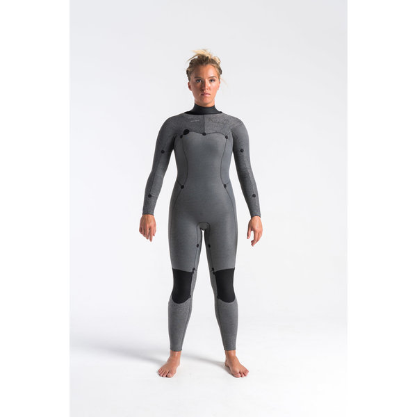 C-Skins Solace 5/4/3 Dames Winter Wetsuit Anthracite/Winter-C/Black