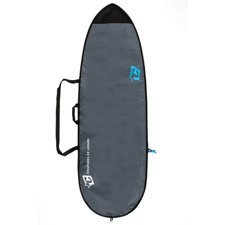 Creatures of Leisure Creatures Lite Fish Boardbag Charcoal/Cyan