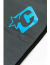 Creatures Lite Fish Boardbag Charcoal/Cyan
