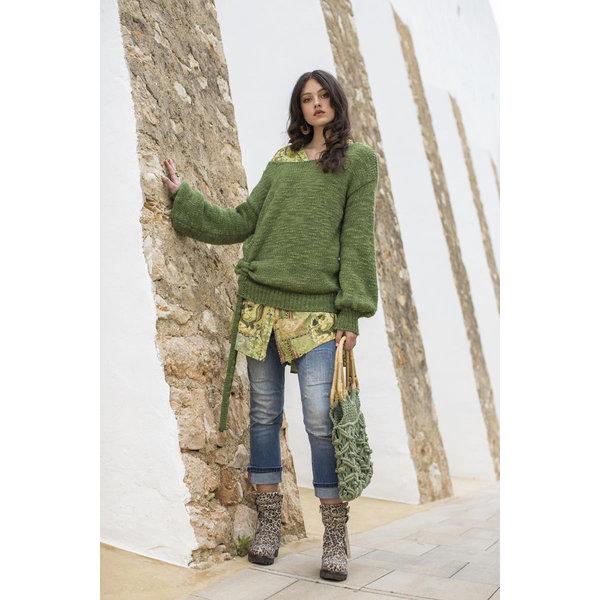 Isla Ibiza Dames Jumper Green
