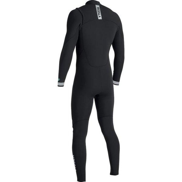 Vissla 7 Seas 5/4 Kinder Winter Wetsuit Black Fade