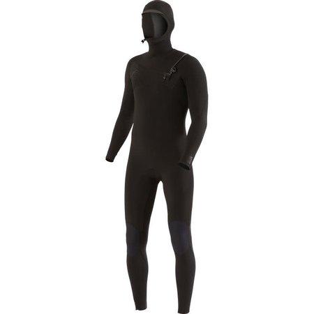 Vissla Vissla 7 Seas 5/4/3 Heren Winter Wetsuit Hooded Stealth