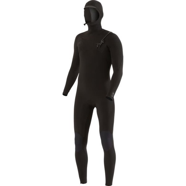Vissla 7 Seas 5/4/3 Heren Wetsuit Hooded Stealth