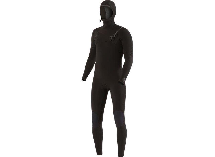 Vissla 7 Seas 5/4/3 Men's Wetsuit Hooded Stealth
