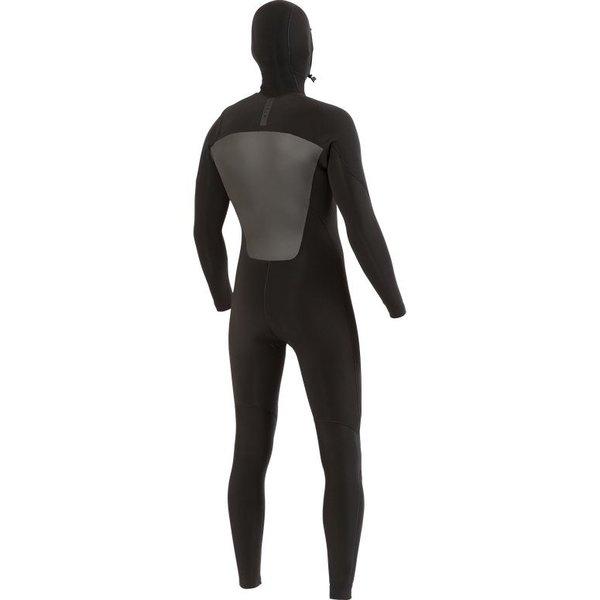 Vissla 7 Seas 5/4/3 Heren Winter Wetsuit Hooded Stealth