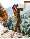Billabong Dames High Flyer Jumpsuit Sage