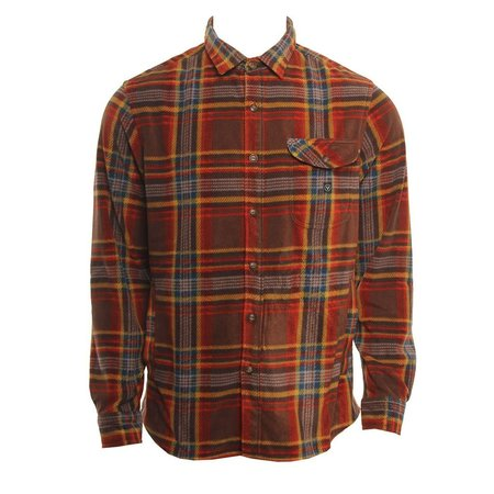 Vissla Vissla Heren Delay Shirt Jacket Brick