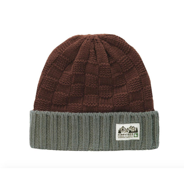 Hippy Tree Crevice Beanie Rust