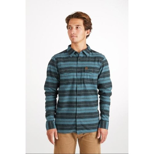 Hippy Tree Hippy Tree Heren Morrison Flannel Shirt Blue