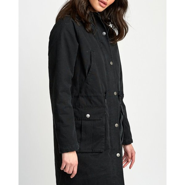 RVCA Dames Managed Jacket Black