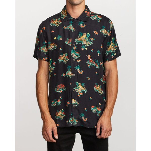 RVCA Heren Grisancich II Button-up Shirt
