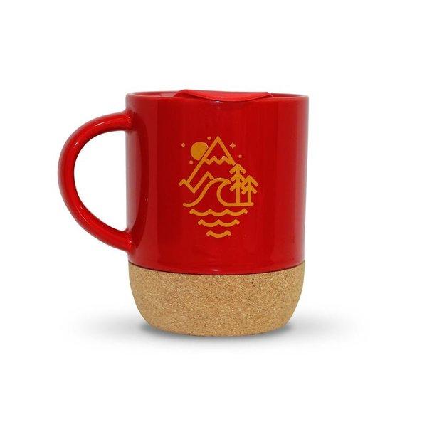Old Guys Rule Stacked Logo Travel Mug Cardinal Red