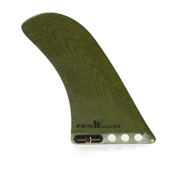 FCS II Hatchet PG 9 Inch Longboard Fin Dry Mustard