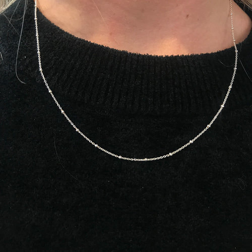A Little Lem A Little Lem Ava Silver Single Necklace