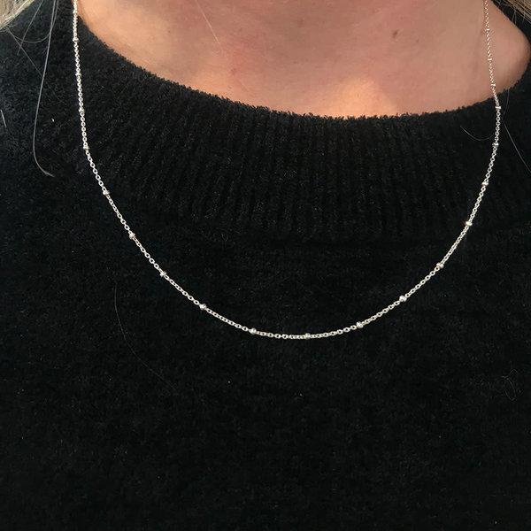 A Little Lem Ava Silver Single Necklace