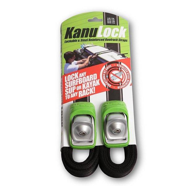 Kanulock 2.5m/8ft Lockable Tie Down Set