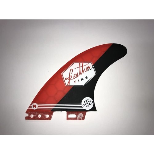 Feather Fins Feather Fins FCS II Signatures Jonathan Gonzalez Thruster Fins Red