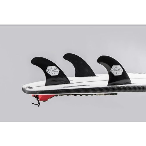 Feather Fins Feather Fins FCS II Ultraglass Thruster Fins Black