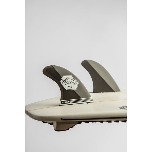 Feather Fins FCS Ultralight Thruster Fins Carbon Grey