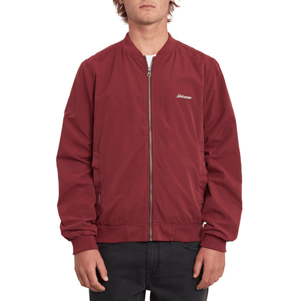 Volcom Heren Burnward Jacket Pinot