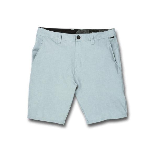 Volcom Heren Frickin SNT Slub 20 Hybrid Shorts Cool Blue