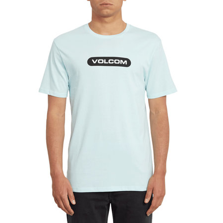 Volcom Volcom Heren New Euro Basic Tee Resin Blue
