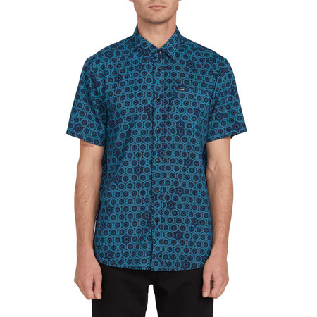 Volcom Volcom Heren Sun Medallion SS Shirt Black