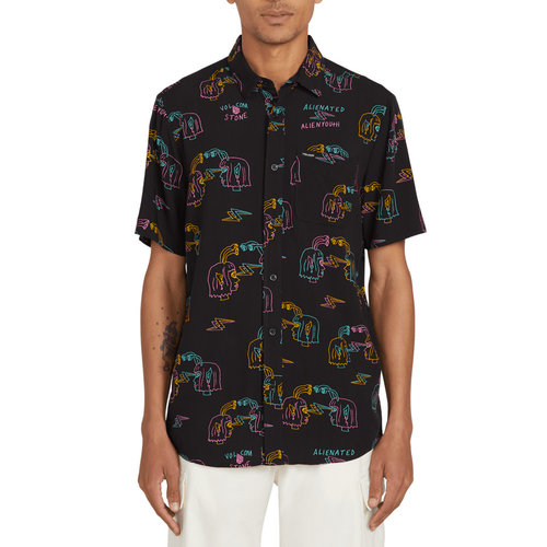 Volcom Volcom Men's Alienated SS Shirt Black