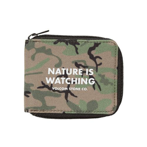 Volcom Volcom Full Zip Wallet Camouflage