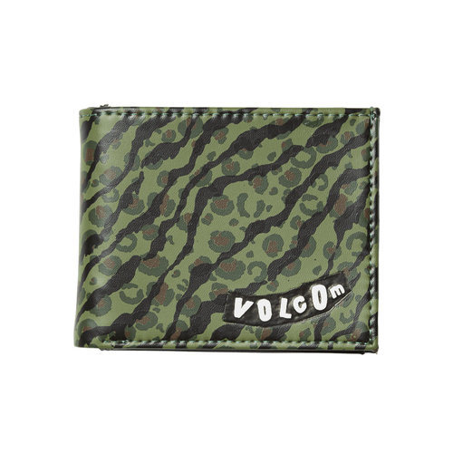 Volcom Volcom Empty PU Wallet Camouflage