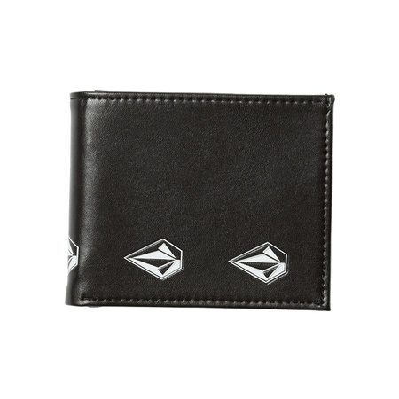 Volcom Volcom Empty PU Wallet New Black