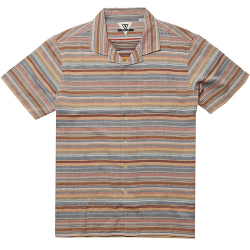 Vissla Vissla Heren Baja Del Sur Shirt Rusty Red