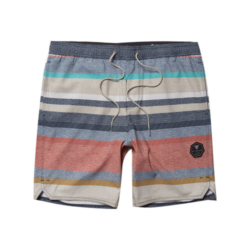 """Vissla Vissla Heren Paso Robles 17.5"""" Ecolastic Shorts Sand"""