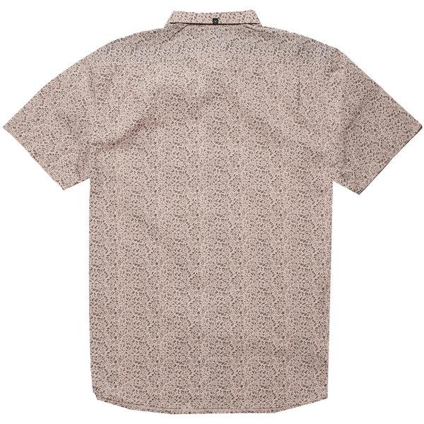 Vissla Heren Boozer SS Eco Shirt Pink Smoke
