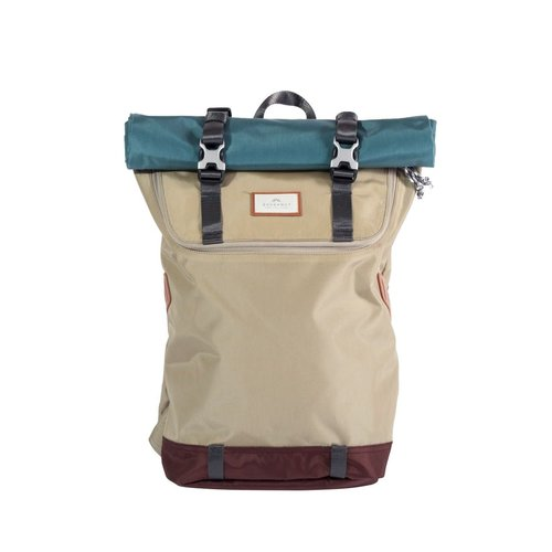 Doughnut Doughnut Christopher Glossy Backpack Beige Teal