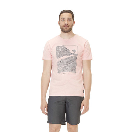 Picture Organic Clothing Picture Heren Victor Tee Crystal Pink Melange