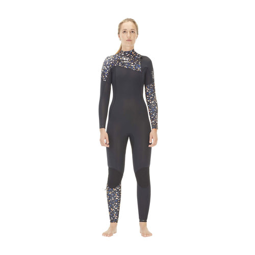 Picture Organic Clothing Picture Equation 4/3 Dames Wetsuit Terrazo Black