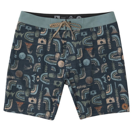 Hippy Tree Hippy Tree Heren Kona Trunk Boardshorts Navy