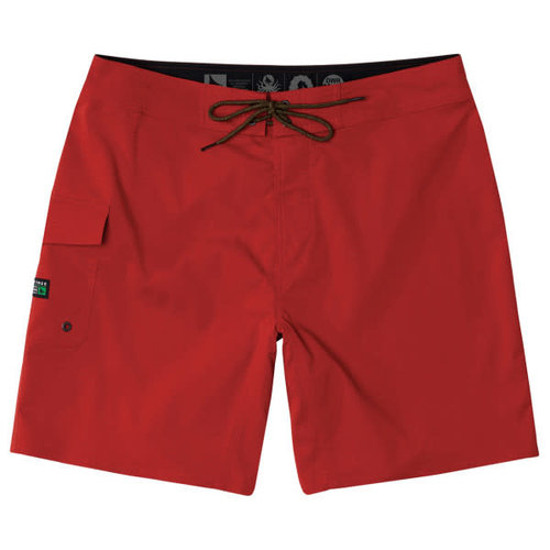 Hippy Tree Hippy Tree Heren Patrol Trunk Boardshorts Red