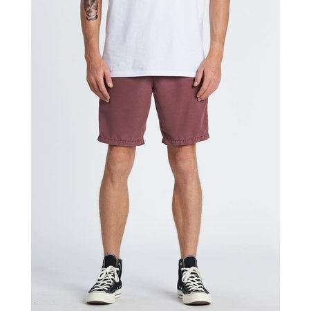Billabong Billabong Heren New Order Overdye Submersible Walkshort Dusty Red