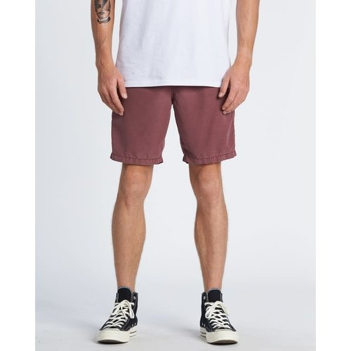 Billabong Billabong Men New Order Overdye Submersible Walkshort Dusty Red