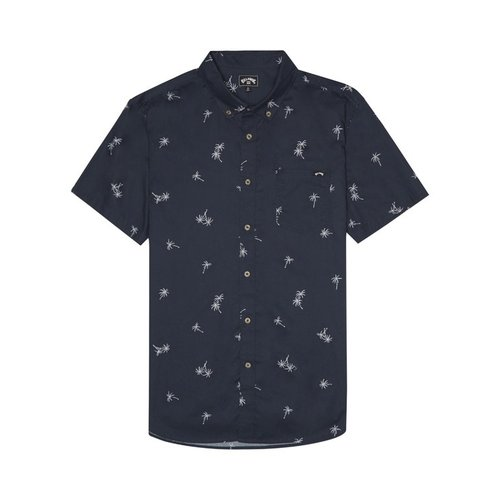 Billabong Billabong Men's Sundays Mini SS Shirt Navy