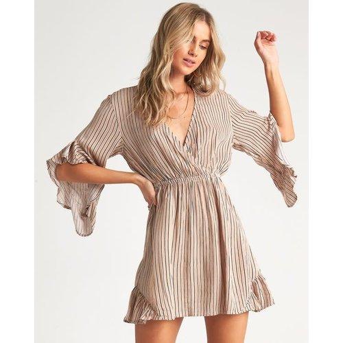 Billabong Billabong Dames Love Light Dress Khaki Sand